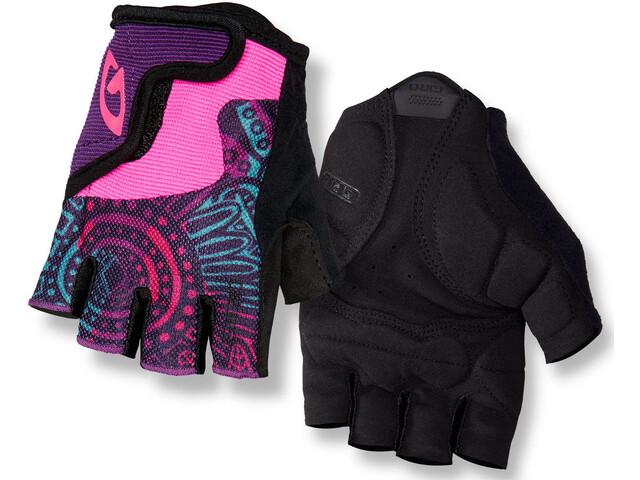 Giro Bravo Gloves Kids blossom